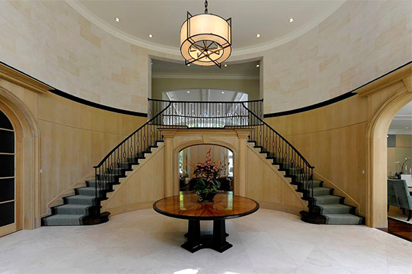 G l smith associates inc portfolio for House entrance designs interior